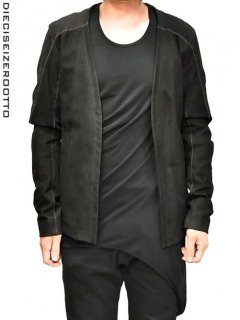 10sei0otto Leather Cardigan With Over Lock<img class='new_mark_img2' src='//img.shop-pro.jp/img/new/icons8.gif' style='border:none;display:inline;margin:0px;padding:0px;width:auto;' />