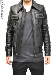 GalaabenD A2 Leather Jacket<img class='new_mark_img2' src='//img.shop-pro.jp/img/new/icons8.gif' style='border:none;display:inline;margin:0px;padding:0px;width:auto;' />