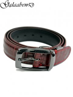 GalaabenD Formal belt [Crocodile Embossed]<img class='new_mark_img2' src='//img.shop-pro.jp/img/new/icons8.gif' style='border:none;display:inline;margin:0px;padding:0px;width:auto;' />