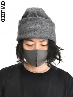 CIVILIZED Covered Knit Cap<img class='new_mark_img2' src='https://img.shop-pro.jp/img/new/icons38.gif' style='border:none;display:inline;margin:0px;padding:0px;width:auto;' />
