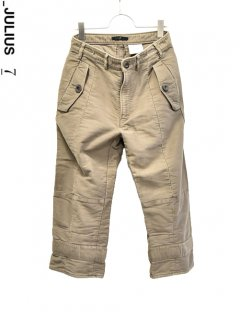 _JULIUS Military 3/4 Pants<img class='new_mark_img2' src='https://img.shop-pro.jp/img/new/icons38.gif' style='border:none;display:inline;margin:0px;padding:0px;width:auto;' />