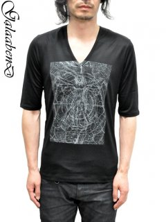 GalaabenD V Neck Print Cut&sewn h/S<img class='new_mark_img2' src='https://img.shop-pro.jp/img/new/icons20.gif' style='border:none;display:inline;margin:0px;padding:0px;width:auto;' />