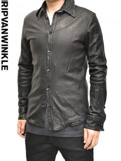 ripvanwinkle Leather Shirt<img class='new_mark_img2' src='//img.shop-pro.jp/img/new/icons20.gif' style='border:none;display:inline;margin:0px;padding:0px;width:auto;' />