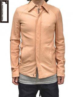 r[RIPVANWINKLE] Leather Shirt Jacket<img class='new_mark_img2' src='https://img.shop-pro.jp/img/new/icons38.gif' style='border:none;display:inline;margin:0px;padding:0px;width:auto;' />