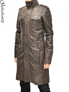 GalaabenD Leather Coat (Fur Lining)