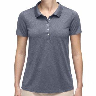 WOMEN SIGNE ENGINEERED POLO S/S