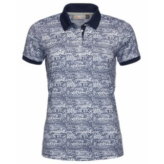 WOMEN SAYLINE PRINTED POLO S/S