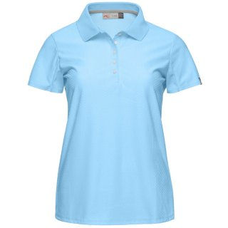 WOMEN SIGNE POLO S/S<img class='new_mark_img2' src='https://img.shop-pro.jp/img/new/icons21.gif' style='border:none;display:inline;margin:0px;padding:0px;width:auto;' />