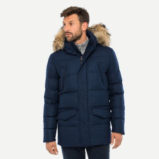 MEN STAZ PARKA LP WITH FUR