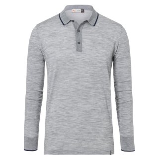 MEN SIRED POLO L/S<img class='new_mark_img2' src='https://img.shop-pro.jp/img/new/icons5.gif' style='border:none;display:inline;margin:0px;padding:0px;width:auto;' />