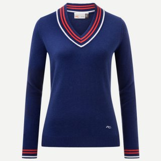 WOMEN KAREN V-NECK PULLOVER<img class='new_mark_img2' src='https://img.shop-pro.jp/img/new/icons5.gif' style='border:none;display:inline;margin:0px;padding:0px;width:auto;' />