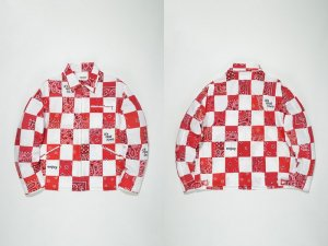 <img class='new_mark_img1' src='https://img.shop-pro.jp/img/new/icons8.gif' style='border:none;display:inline;margin:0px;padding:0px;width:auto;' />BOWWOW REAL THING PATCHWORK JACKET
