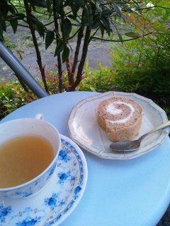 【紅茶】米粉のふわふわロールケーキ♪