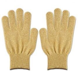 金のグローブ (プレミアカラー手袋 ゴールド) 1組
