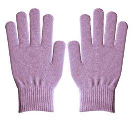 ダブルリブ手袋(男女兼用サイズ) ラベンダー【大量注文のみ・在庫限り終了】