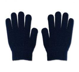 のびのび手袋 紺 1組