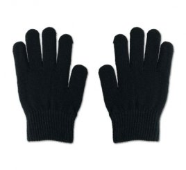 のびのび手袋 黒 1組