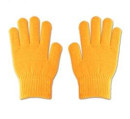 のびのび手袋 黄 1組