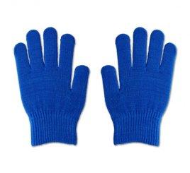 のびのび手袋 青 1組