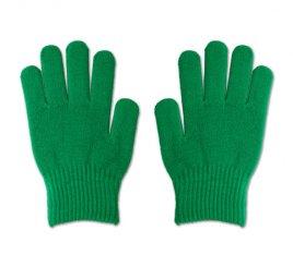 のびのび手袋 緑 1組