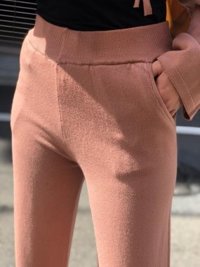 AmelieFolies(ITALY)<br/>KNITO PANTS<br/>PINK<br/>