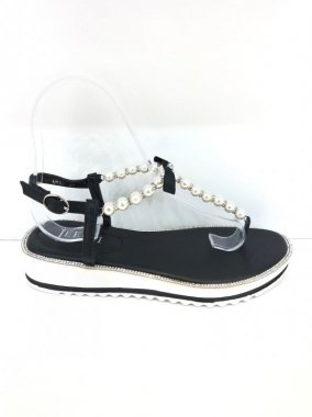 SANDALS(France)<br/>PEARL<br/>BLACK