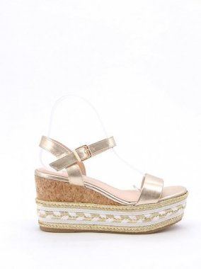 SANDALS(France)<br/>JUDESANDAL <br/>GOLD