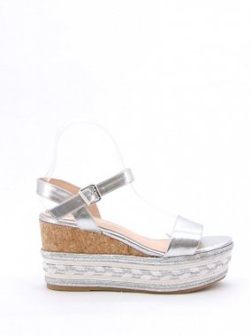 SANDALS(France)<br/>JUDESANDAL <br/>SILVER