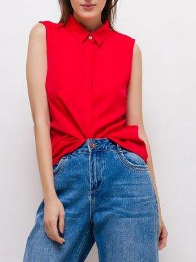 ノースリーブシャツ<br/>RED<br/>S/M/Lサイズ
