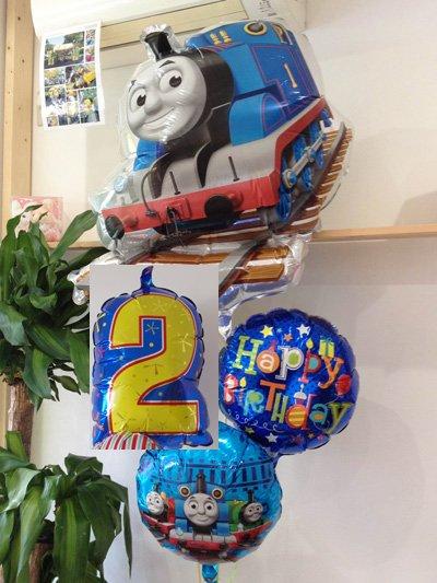 【A317-1】オリジナル 機関車トーマス Happy Birthdayバルーン