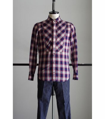 HOMBRE CHECK DRESS SHIRTS<img class='new_mark_img2' src='//img.shop-pro.jp/img/new/icons24.gif' style='border:none;display:inline;margin:0px;padding:0px;width:auto;' />