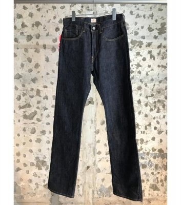 【CANTON OVERALLS】 Selvedge Indigo Denim 5P Basic Jeans<img class='new_mark_img2' src='//img.shop-pro.jp/img/new/icons24.gif' style='border:none;display:inline;margin:0px;padding:0px;width:auto;' />