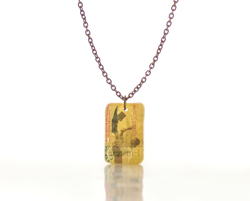 キャンディ製法の小包ネックレス アインシュタイン