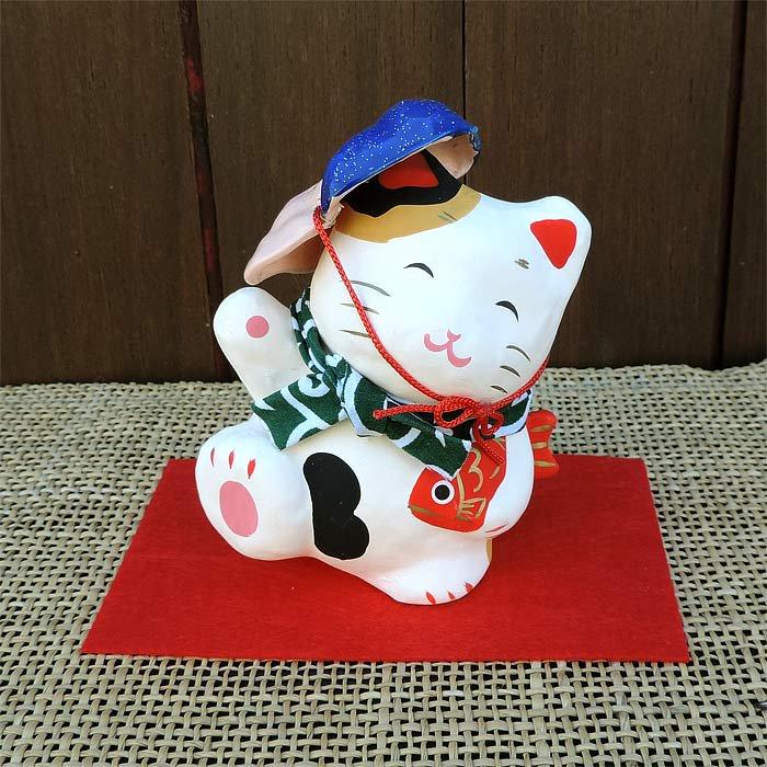 張子縁起ネコ たま三郎えびす