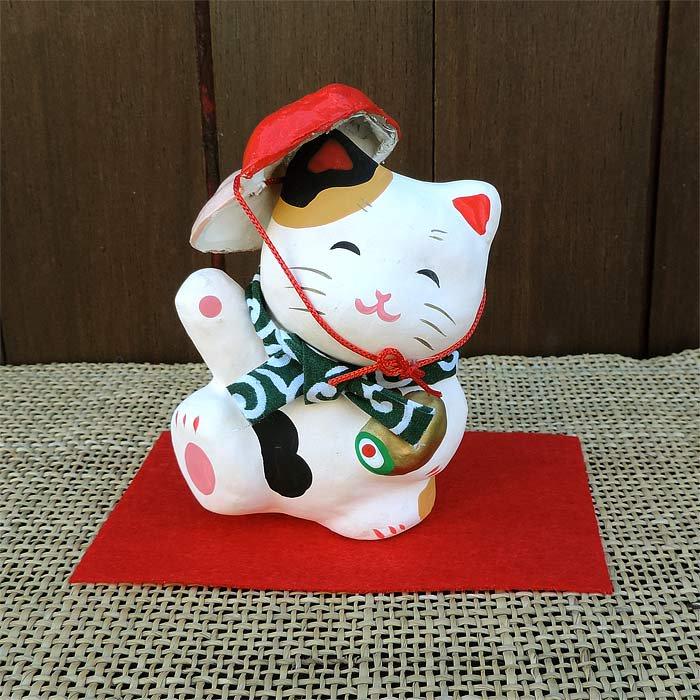 張子縁起ネコ たま三郎だいこく