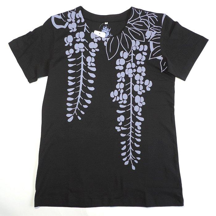 kurofune Tシャツ 蔓藤 黒 XL