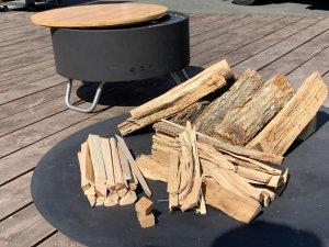 キャンプ用焚火薪