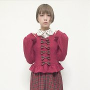70%OFF【Acryl-CANDY】「街から来た少女」コンフェトリ カーディガン(レッド)