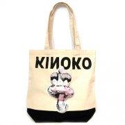 35%OFF【Animal Balloon】KINOKO クッショントートバッグ (NT×BK)