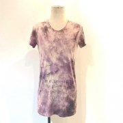 40%OFF【Acryl agitt】斑染カットソー(紫)