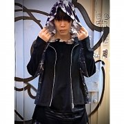 40%OFF【Acryl agitt】青騎士 ハウンドチェック 半袖脇絞りフードチュニック