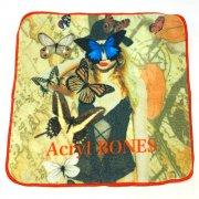 【Acryl agitt】ハンドタオル マドモアゼルバタフライ