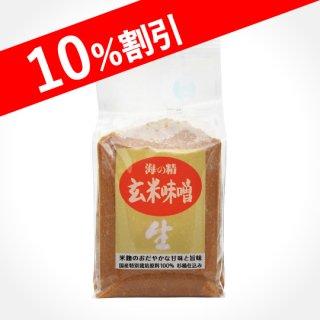 海の精 国産有機玄米味噌 1kg