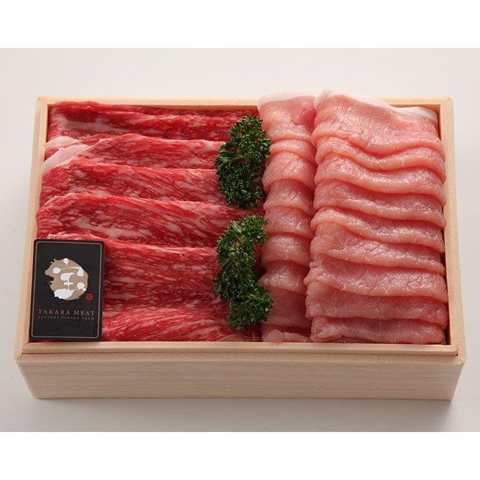 近江牛 みるく豚 しゃぶしゃぶミックスセット 計1kg 冷蔵便
