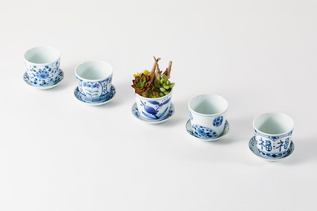 BLUE PLANTS3号鉢