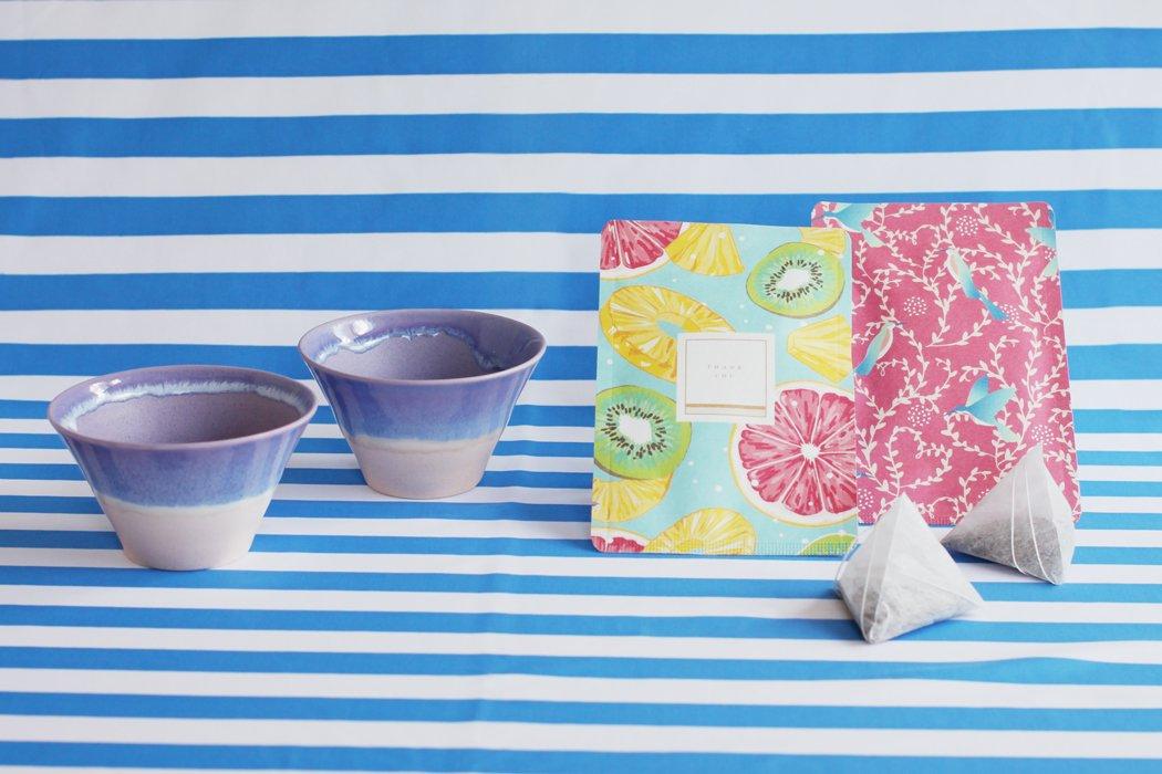 SUMMER GIFT <br>(chayori × 2種 & パステルジュレ S purple × 2個)セット