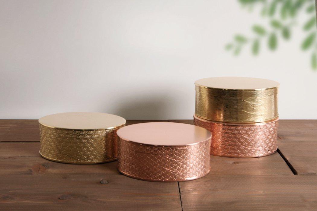 【受注生産/納期約3週間】錺之-KAZARINO-Oval Box(銅)