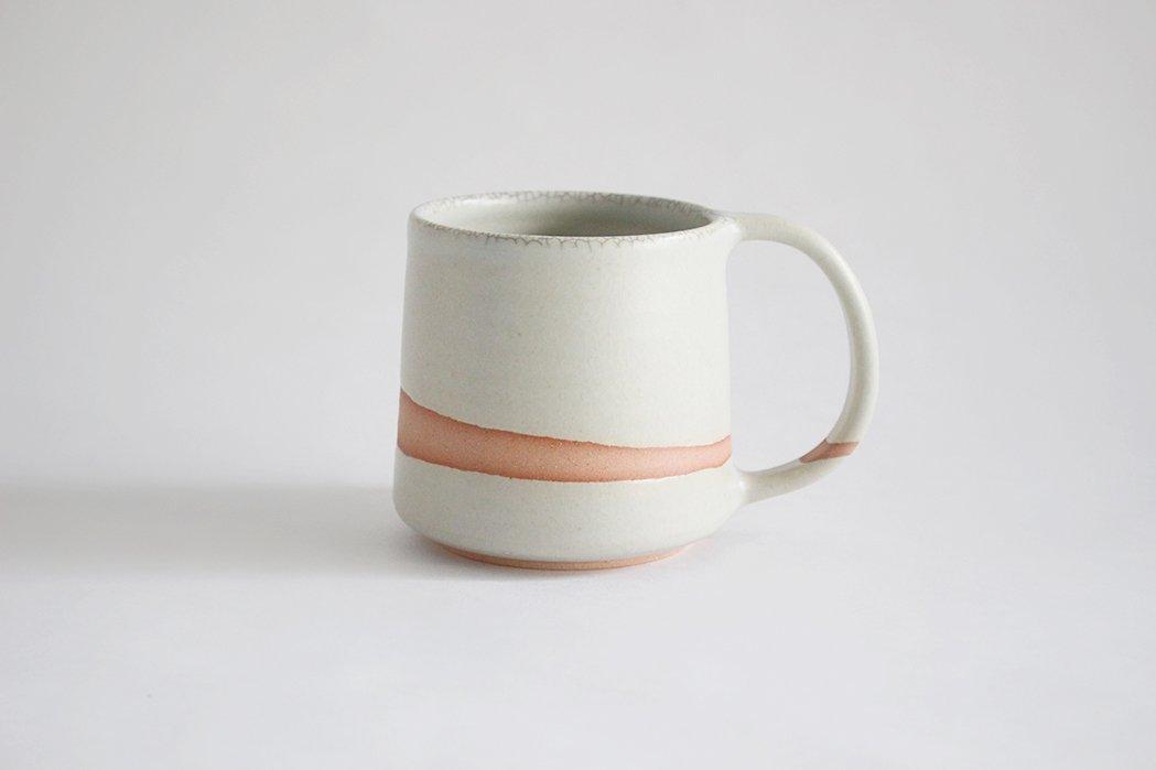 陶徳窯/ マグカップ(青)