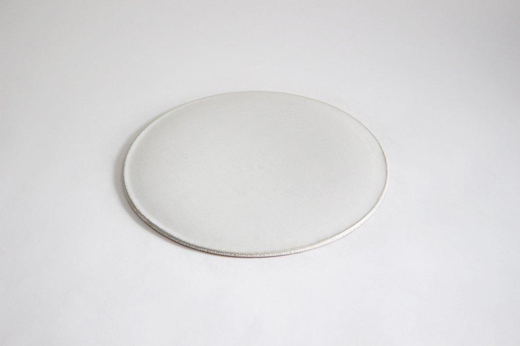 陶徳窯 / 丸皿(白)