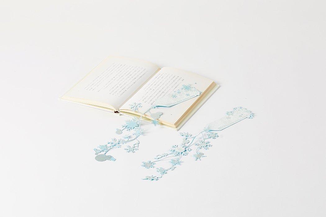 SEE OH! Ribbon (しおりぼん・シオリボン)/ snow